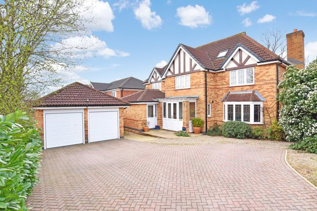 Thumbnail Detached house for sale in Goodrick Close, Harrogate