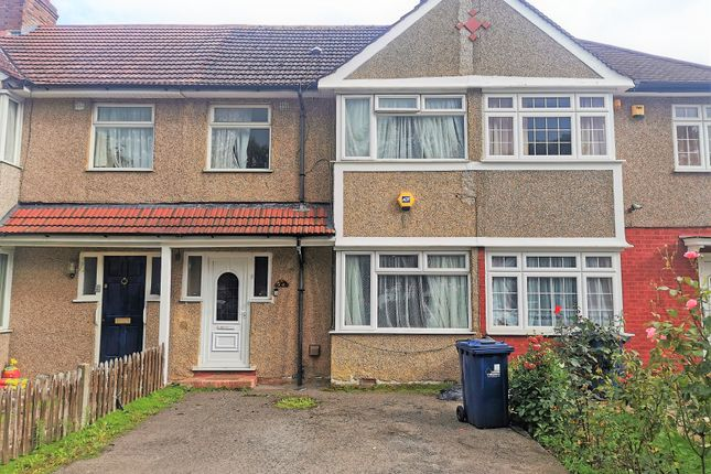 Thumbnail Terraced house to rent in Wood End Lane, Northolt