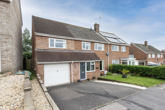 Thumbnail Semi-detached house for sale in Bushfield Road, Crewkerne