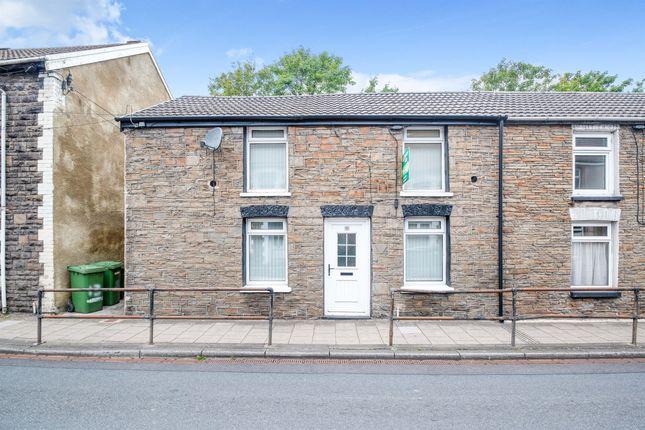Thumbnail End terrace house for sale in Pontshonnorton Road, Pontypridd