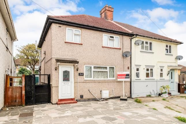 Thumbnail Semi-detached house for sale in Dagenham, Essex, .