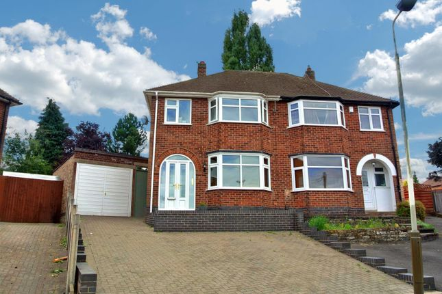 Thumbnail Semi-detached house for sale in Ditchling Avenue, Western Park, Leicester