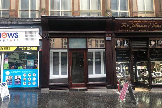 Thumbnail Retail premises to let in Corporation Street, Birmingham