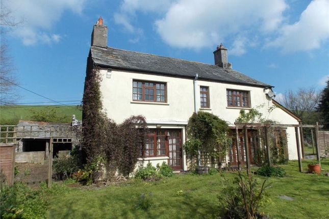 Thumbnail Detached house for sale in Down Farm Cottage, Tinhay, Lifton