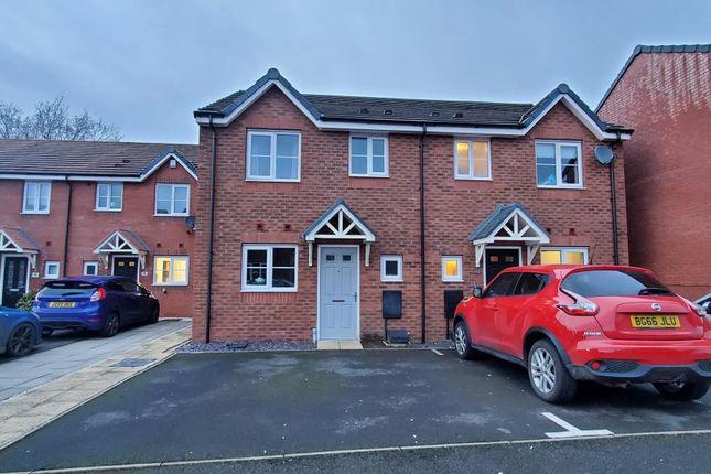 Thumbnail Semi-detached house to rent in Rakegate Close, Wolverhampton