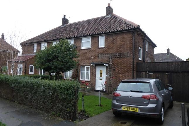 Thumbnail Semi-detached house for sale in Central Drive, Northallerton