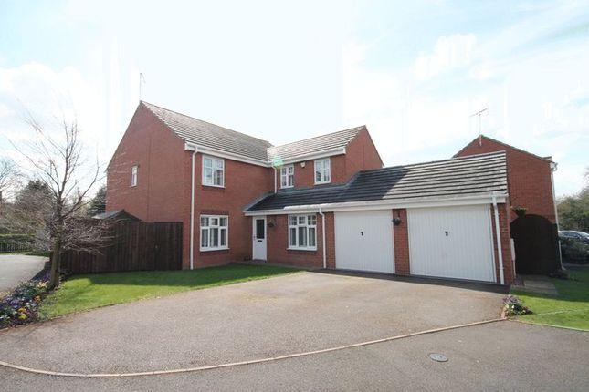 Thumbnail Detached house for sale in Stuart Way, Market Drayton