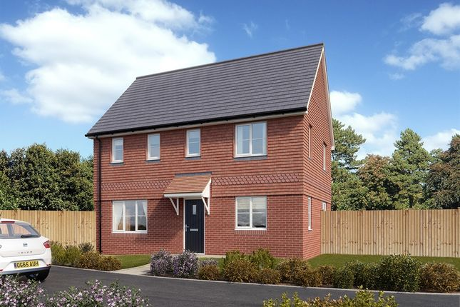"Thumbnail Detached house for sale in ""The Clayton "" at Minchens Lane, Bramley, Tadley"
