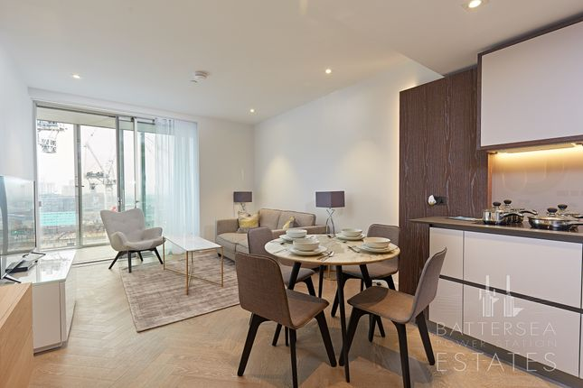 2 bed flat to rent in Circus Road West, Battersea Power Station, Battersea, London