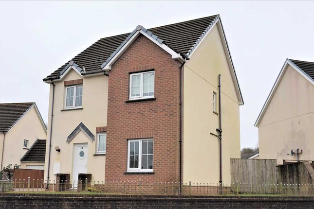 Thumbnail Detached house for sale in Llys Y Foel, Foelgastell, Llanelli