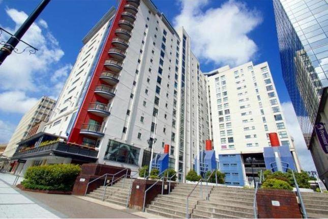 Thumbnail Flat to rent in Landmark Place, Churchill Way, Cardiff