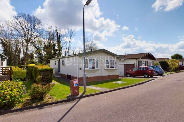 2 bed mobile/park home for sale in The Copse, Vicarage Lane, Hoo, Rochester ME3