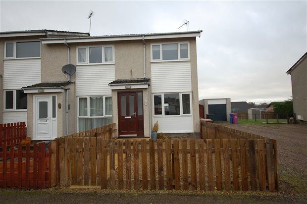 Thumbnail End terrace house for sale in Bailies Drive, Elgin, Elgin