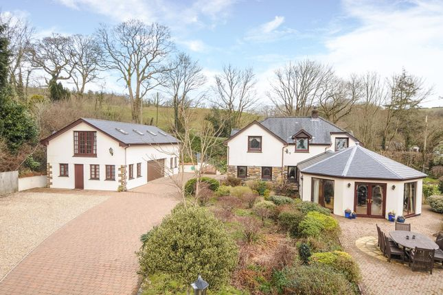 Thumbnail Detached house for sale in Plus 2 Bed Apartment And Land, Bodmin, Cornwall