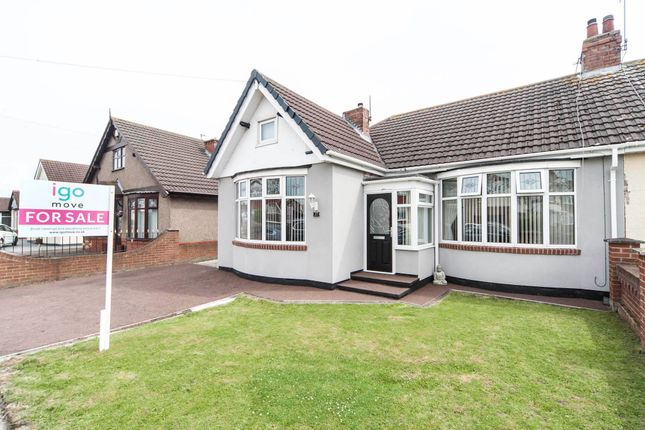 Thumbnail Bungalow for sale in Oakland Avenue, Hartlepool
