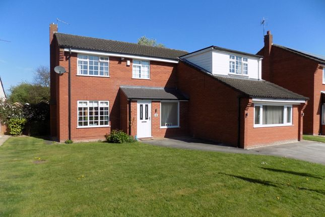 Thumbnail Detached house for sale in Grangebrook Drive, Winsford