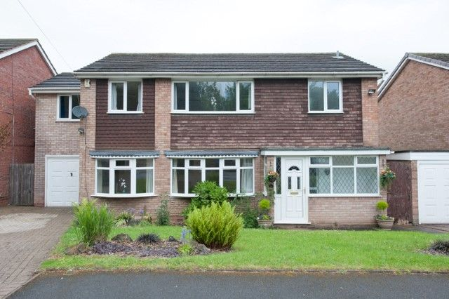 Thumbnail Detached house for sale in Milcote Drive, Sutton Coldfield, West Midlands