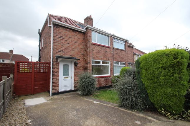 Semi-detached house to rent in Mitford Gardens, Lobley Hill, Gateshead