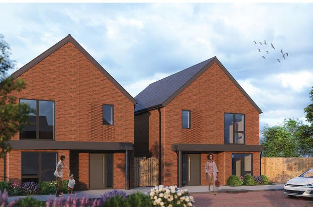 Thumbnail Detached house for sale in Ripley Road, Broughton, Milton Keynes