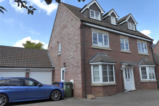 Thumbnail Detached house to rent in Harefield, Grange Park, Northampton