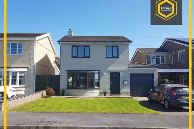 Thumbnail Detached house for sale in Hilltop, Llanelli