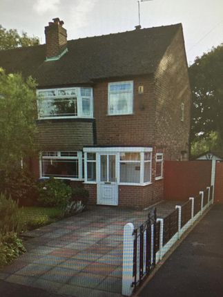Thumbnail Semi-detached house to rent in Curzon Green, Stockport