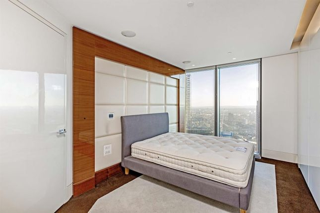 Bedroom of One St George Wharf, Nine Elms, London SW8