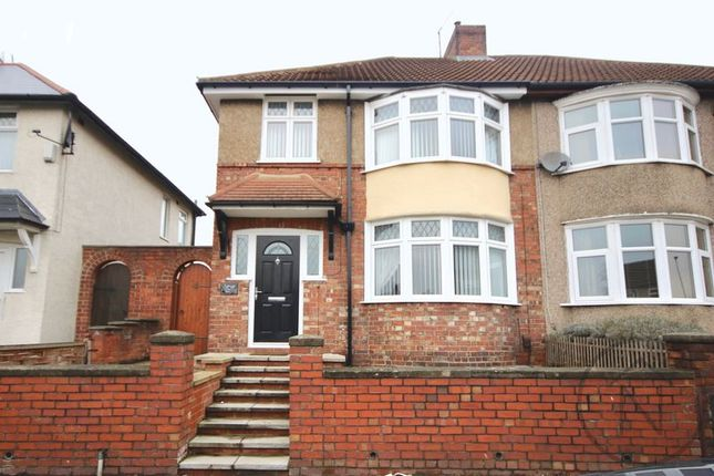 3 bed semi-detached house to rent in Longfield Road, Darlington
