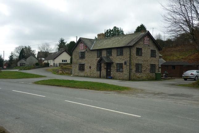 Thumbnail Pub/bar for sale in St Harmon, Powys