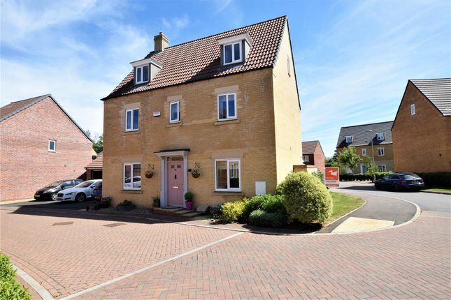 Thumbnail Detached house for sale in Cornflower Crescent, Barleythorpe, Oakham