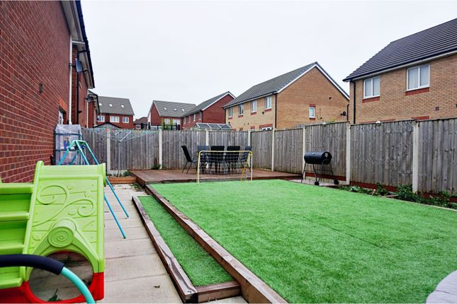 Rear Garden of Larchwood Avenue, Manchester M9
