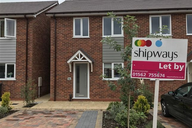 Thumbnail Semi-detached house to rent in Broad Street, Kidderminster