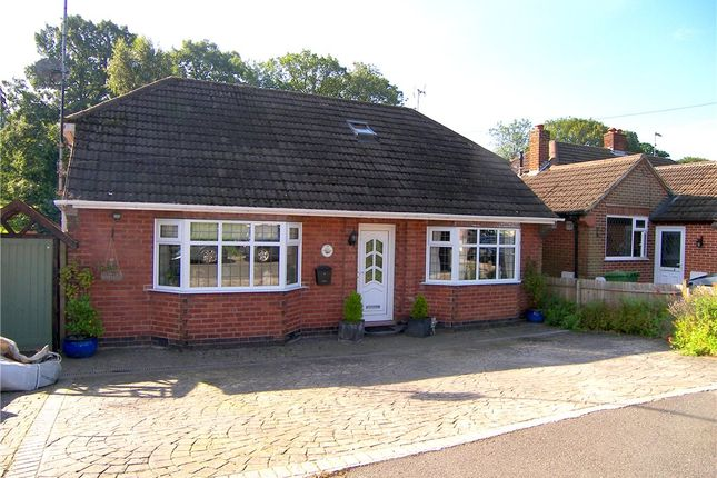 Thumbnail Detached bungalow for sale in Hickton Road, Swanwick, Alfreton