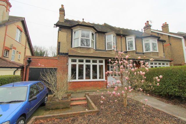 Thumbnail Semi-detached house for sale in Grosvenor Avenue, Carshalton