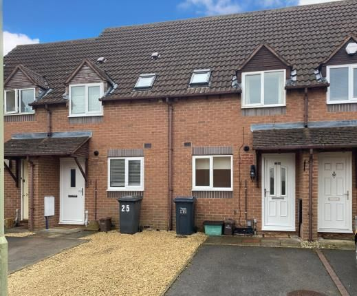 Thumbnail Terraced house for sale in Hasfield Close, Quedgeley, Gloucester, Gloucestershire