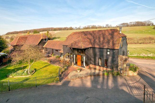 Thumbnail Barn conversion for sale in Pett Road, Stockbury, Sittingbourne