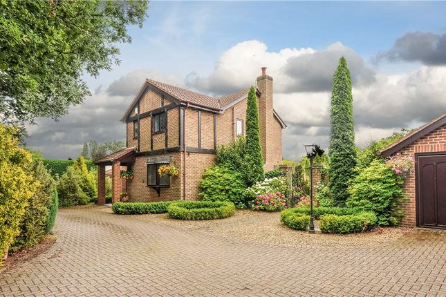 Thumbnail Detached house for sale in Church Road, Three Legged Cross, Wimborne, Dorset