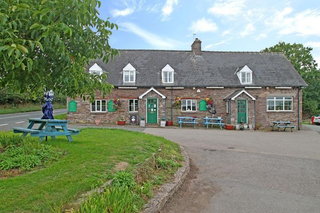Thumbnail Detached house for sale in A40, Llanhamlach, Brecon, Powys