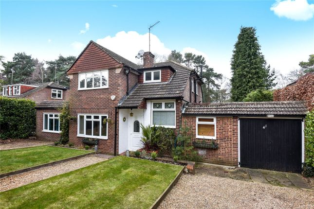 Thumbnail Detached house for sale in Pine Tree Hill, Pyrford, Woking