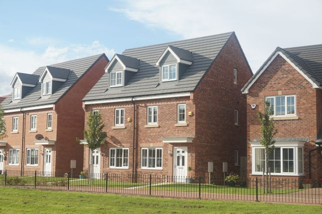 Thumbnail Town house for sale in Palladian Walk, Seaton Delaval, Whitley Bay