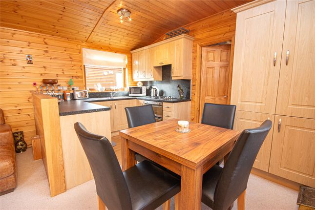 Dining Area of Lodge N12, Lowther Holiday Park, Eamont Bridge, Penrith, Cumbria CA10