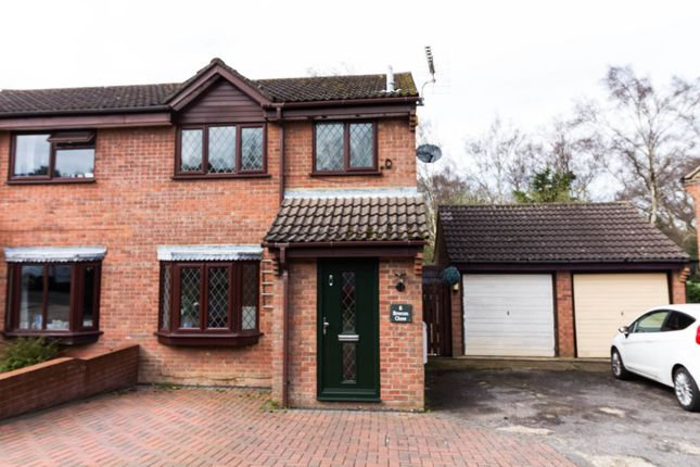 Thumbnail Semi-detached house to rent in Brecon Close, Southampton