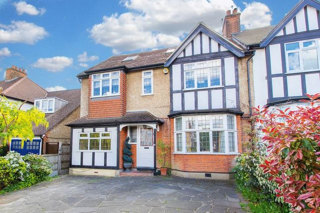 Thumbnail Semi-detached house for sale in Palmerston Road, Buckhurst Hill