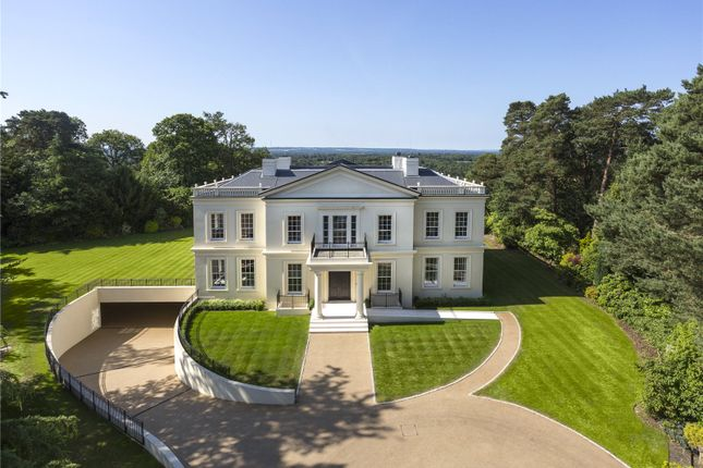 Thumbnail Detached house for sale in Tor Lane, St George's Hill, Weybridge, Surrey