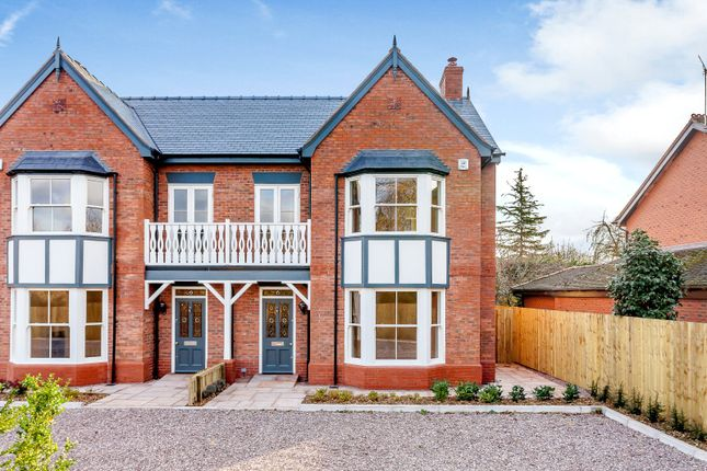 Thumbnail Semi-detached house for sale in The Dandelions, Brown Heath Road, Waverton, Chester