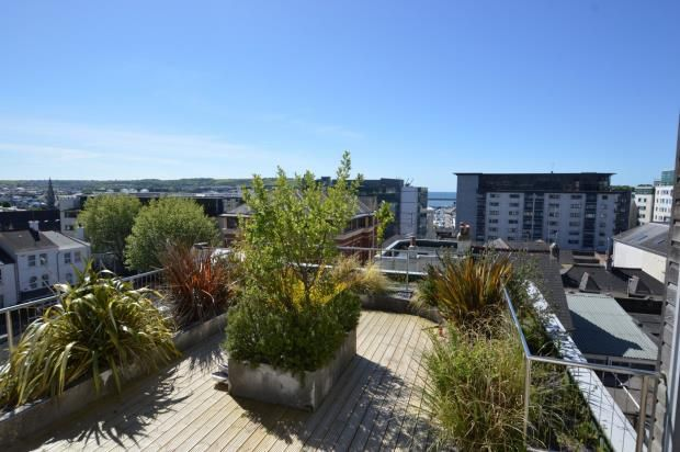 Roof Terrace of North Street, City Centre, Plymouth, Devon PL4