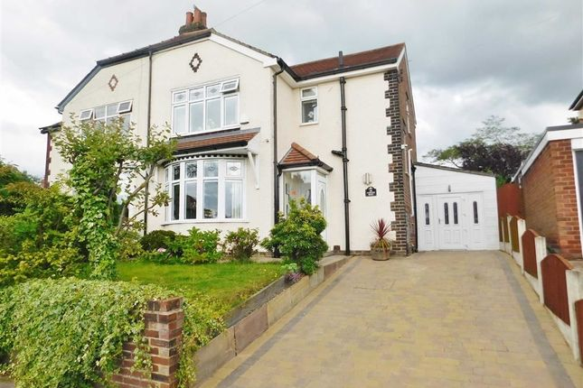 Thumbnail Semi-detached house for sale in Pennine Road, Woodley, Stockport