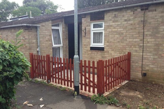 Thumbnail Terraced bungalow to rent in Mill Green Court, Basildon, Essex