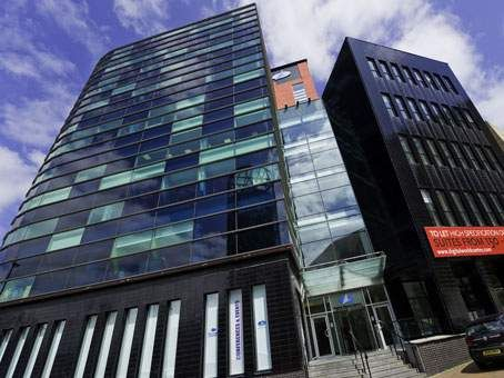 Thumbnail Office to let in Digital World Centre, 1 Lowry Plaza, The Quays, Salford, - Serviced Offices