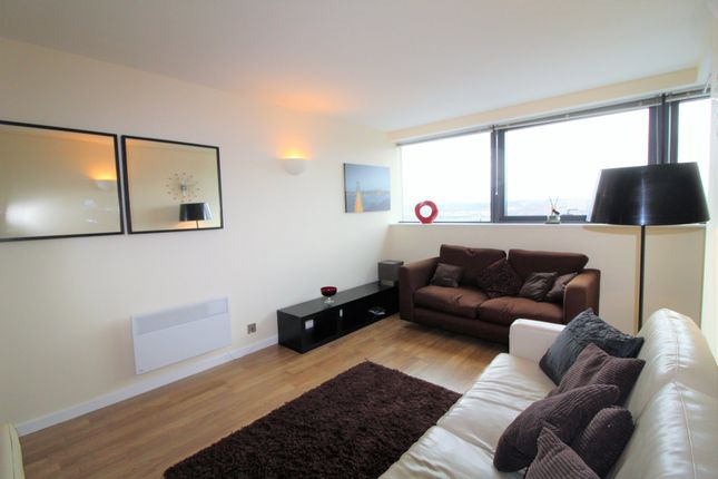 Thumbnail Flat to rent in Bridgewater Place, Leeds